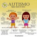 avaliação neuropsicológica de autismo onde tem Vila Formosa