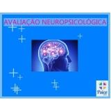 avaliação neuropsicológica memória onde tem Jardim América