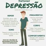 avaliação psicológica depressão onde fazer Aricanduva