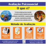 avaliação psicossocial NR 35