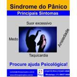 clínica de psicologia para transtorno de pânico na Vila Esperança