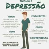 clínica para tratamento para depressão na Aricanduva
