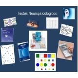 clínicas de avaliação neuropsicológica de aprendizagem Parque São Jorge