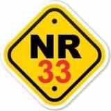 laudo NR 33 na Cidade Jardim