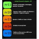 laudo NR 33