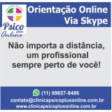 orientações vocacionais online na Vila Mariana