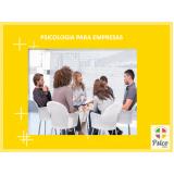 quanto custa psicologia para empresa na Anália Franco